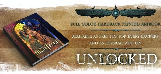 Nightfell RPG kolorowy artbook