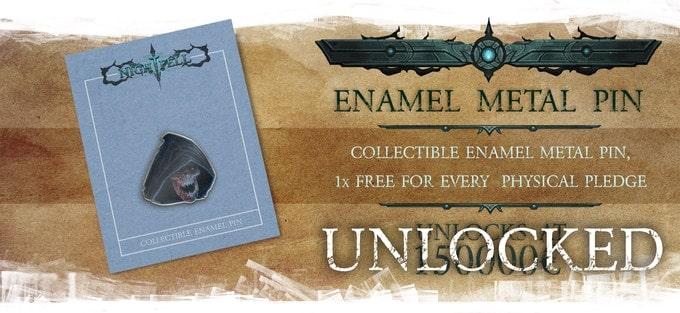 Nightfell RPG metalowy znacznik