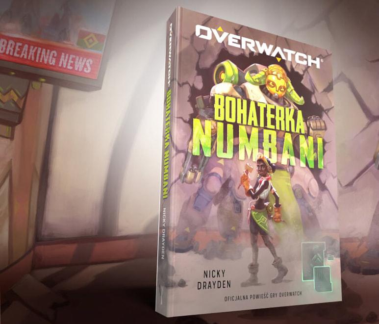 """""""Overwatch: Bohaterka Numbani"""" dostępna już w księgarniach!"""