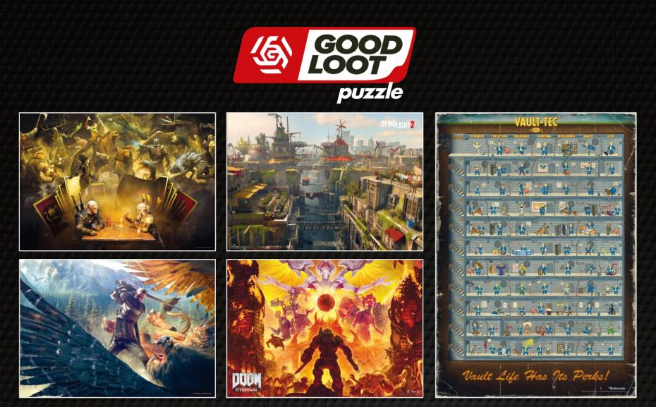 Good Loot: Nowa seria puzzli dla fanów gier