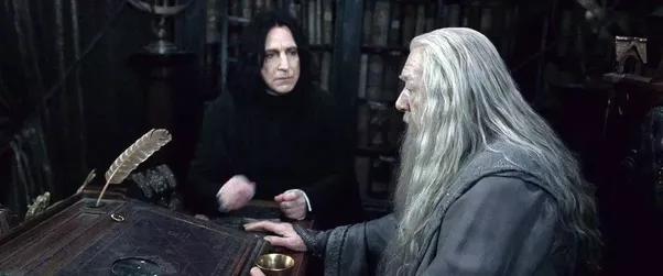 dumbledore-snape