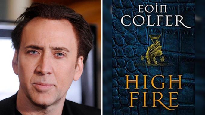 Nicolas Cage wcieli się w rolę smoka - alkoholika