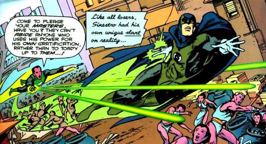 Batman Zielona Latarnia