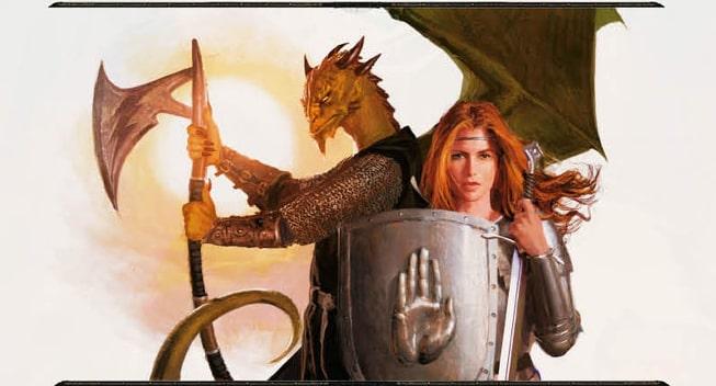 Diamond Throne RPG dragon warrior