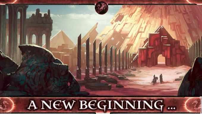 Diamond Throne RPG new beginning
