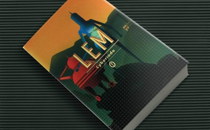 Stanisław Lem Cyberiada okładka książki