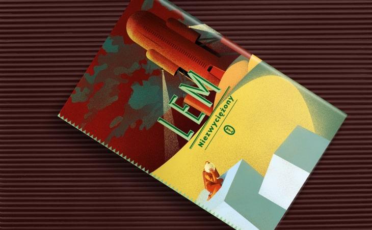 Stanisław Lem Niezwyciężony okładka książki
