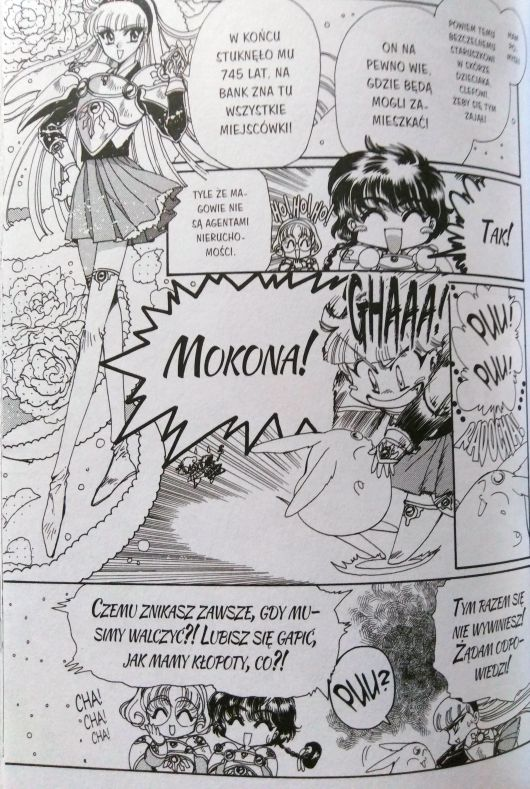 Magic Knight Rayearth manga recenzja