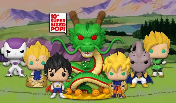 Nowa seria figurek Funko Pop z 10 – calowymi postaciami serii Dragon Ball.