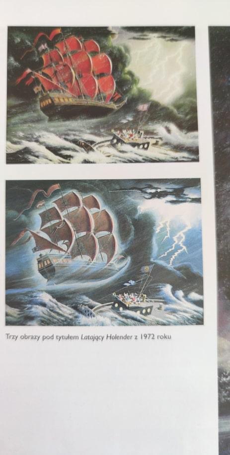 strona komiksu Kaczogród Latający Holender