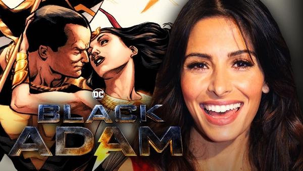 "Sarah Shahi jako Isis w filmie ""Black Adam"""