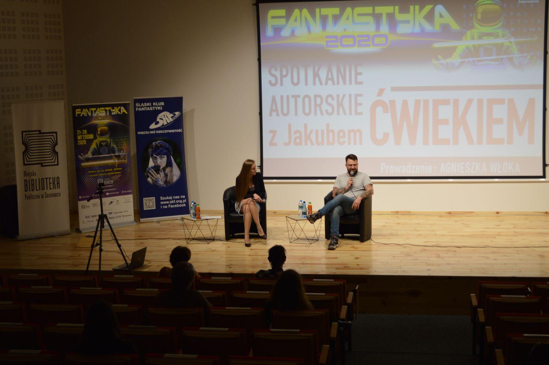Fantastyka2020 spotkanie z Jakubem Ćwiekiem