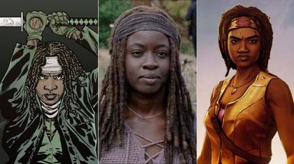 """Michonne powraca do """"Walking Dead"""""""