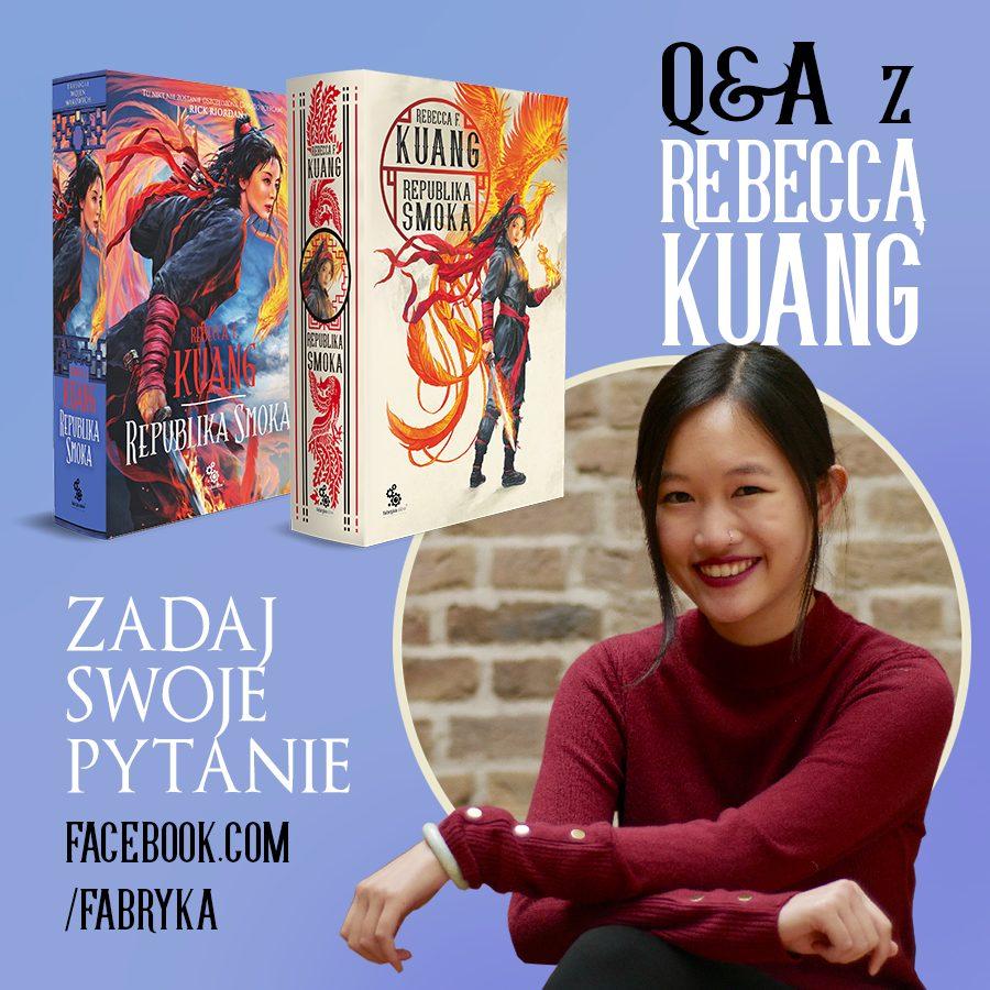 Q&A z Rebeccą Kuang