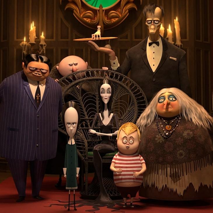"""Kadr z animacji """"Rodzina Addamsów"""""""