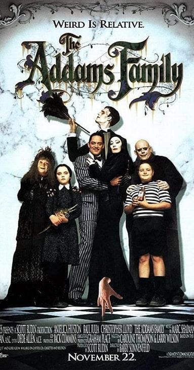 "Plakat filmu ""Rodzina Addamsów"""