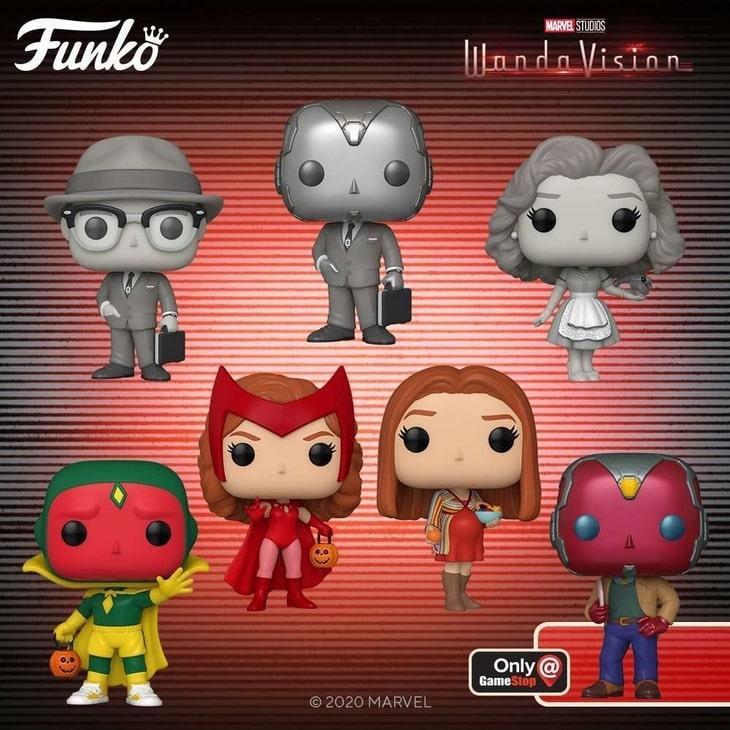 "Kolekcja figurek Funko POP! dla serialu ""WandaVision"""