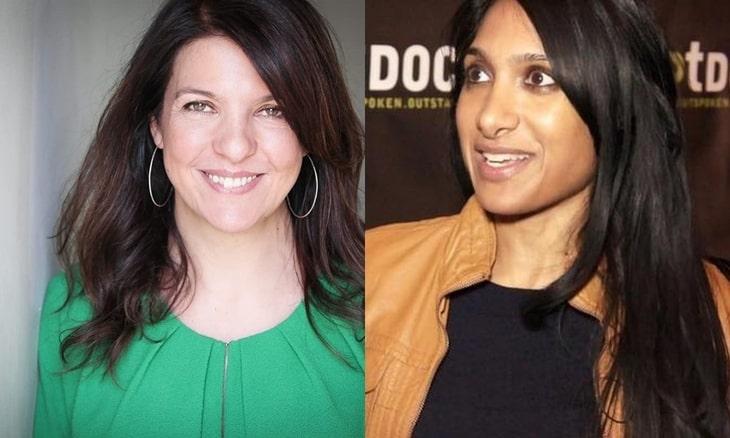 """Zdjęcie Louise Hooper i Geety Patel, reżyserek drugiego i pierwszego sezonu """"Wiedźmina"""""""