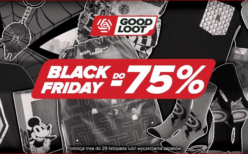 Black Friday z gadżetami od Good Loot