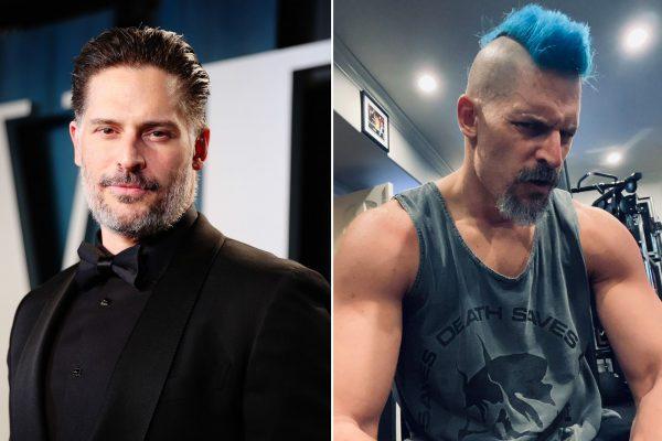 Niebieskie włosy Joe Manganiello, czyli Deathstroke w akcji