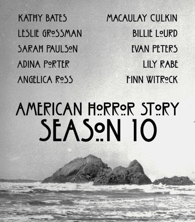 """""""American Horror Story 10"""", obsada"""