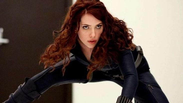"""""""Iron Man 2"""", Czarna Wdowa"""