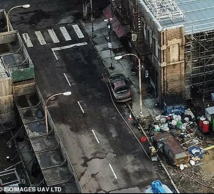 """Zdjęcie Gotham City z planu """"The Batman"""""""