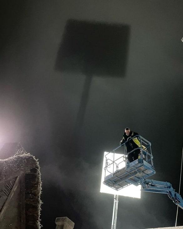"""""""Wiedźmin 2"""", zdjęcie z planu w studio"""