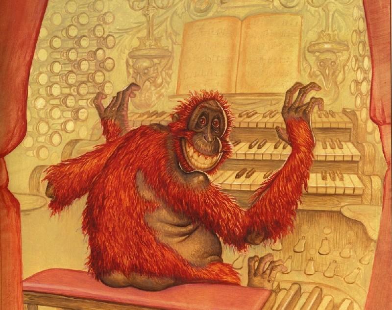 Terry Pratchett ilustracja z książki