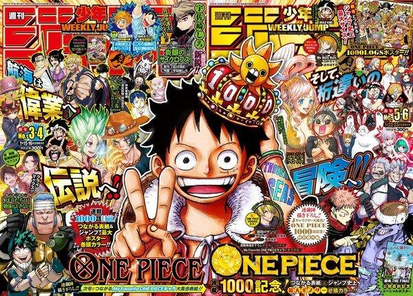 One Piece świętuje wydanie 1000 rozdziałów