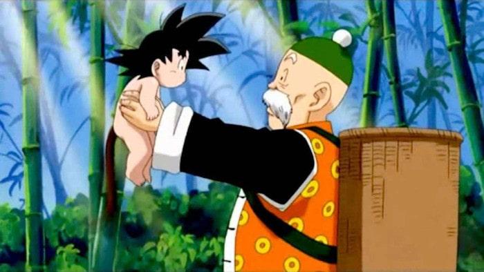 Dziadek Gohan z Dragon Ball