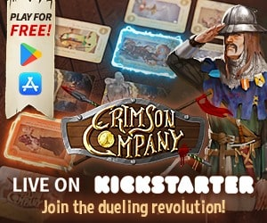 Crimson Company live on Kickstarter