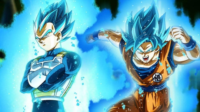 Super Saiyan Blue, Dragon Ball