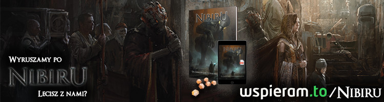 Nibiru RPG, zbiórka na wspieram.to
