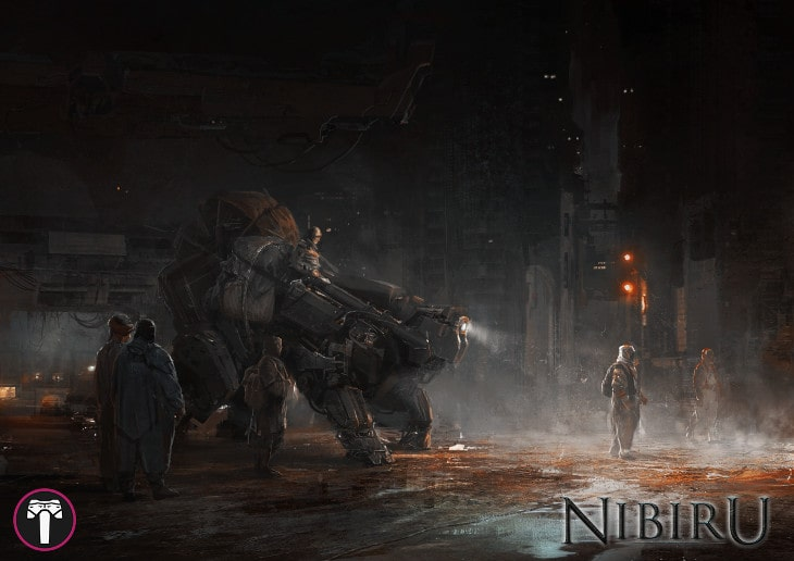 Caravan from the story game Nibiru