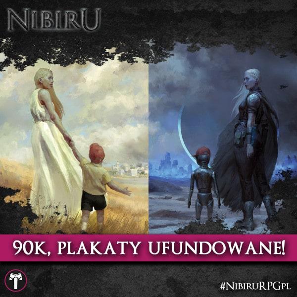 Nibiru RPG two sponsored posters