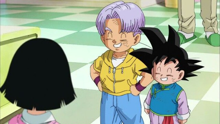 Dragon Ball Goten Trunks
