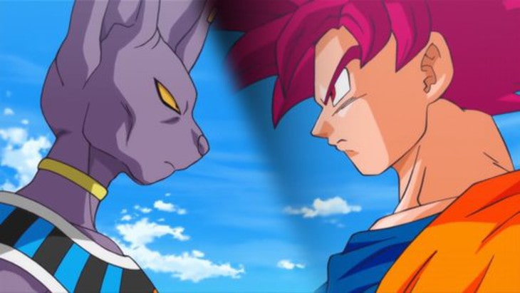 Dragon Ball saga beerus
