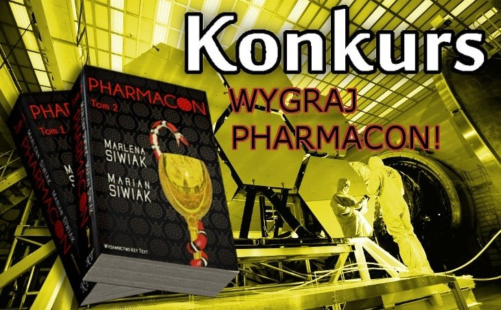 "Konkurs: wygraj nowy technothriller ""Pharmacon"""
