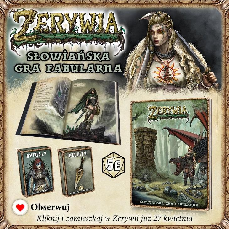 Słowiańska gra fabularna Zerywia RPG
