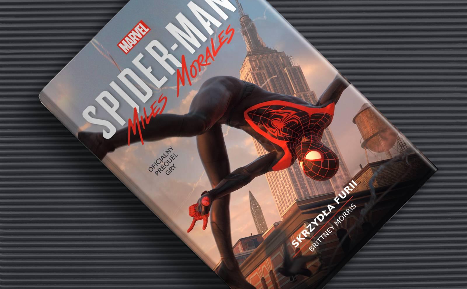"""Książka """"Spider-Man: Skrzydła furii"""" dostępna w sprzedaży!"""
