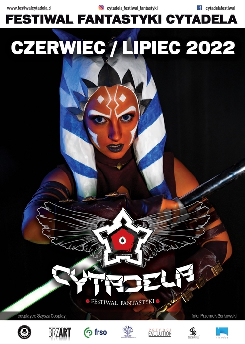 Plakat Festiwalu Fantastyki Cytadela