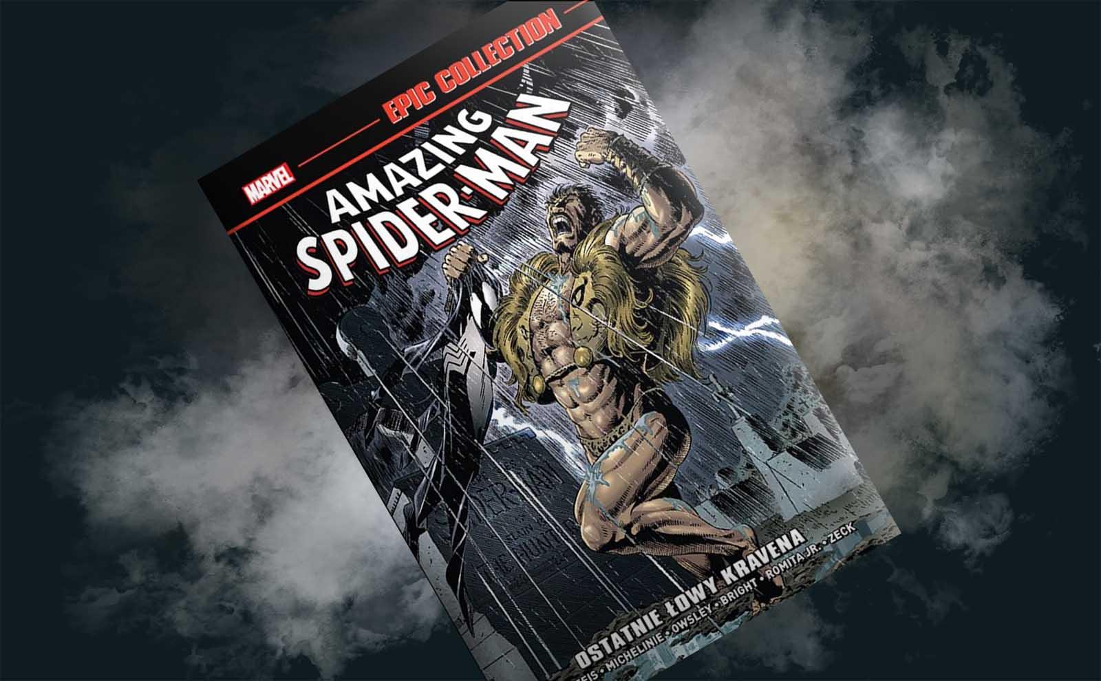 """Podróż do lat 80. – recenzja komiksu """"Amazing Spider-Man: Ostatnie łowy Kravena"""""""