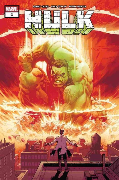 Okładka komiksu Hulk