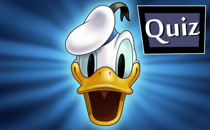 Quiz: Jak dobrze znasz Kaczora Donalda i jego świat?