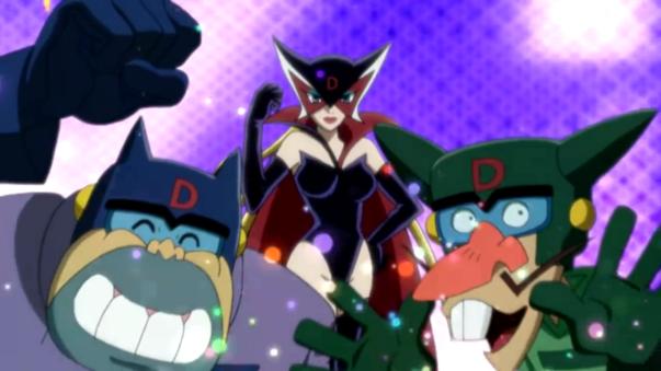 Boyakki i Tonzler z anime Yattaman