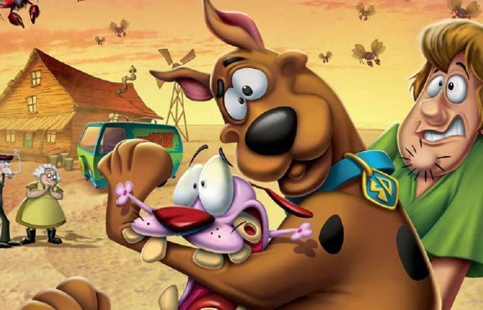 Scooby-Doo poznaje Chojraka – tchórzliwego psa