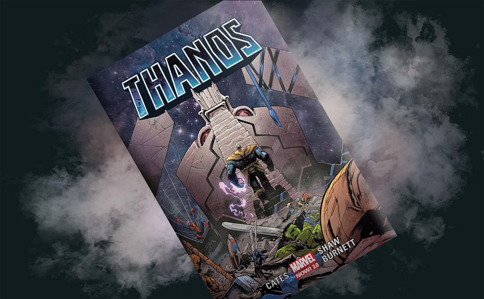 """Nie tylko Tytan jest tu szalony! – recenzja komiksu """"Thanos"""", t. 2"""