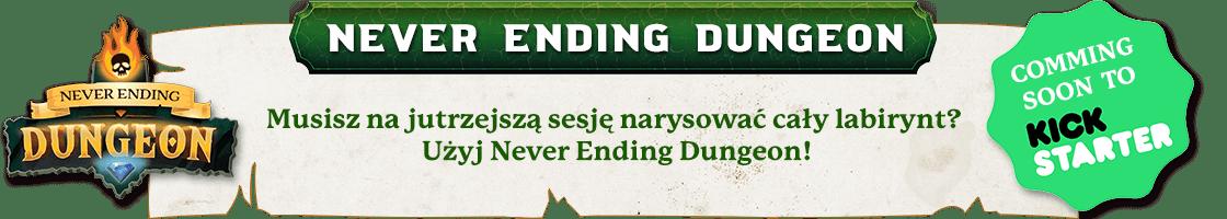 Never Ending Dungeon comming soon on Kickstarter