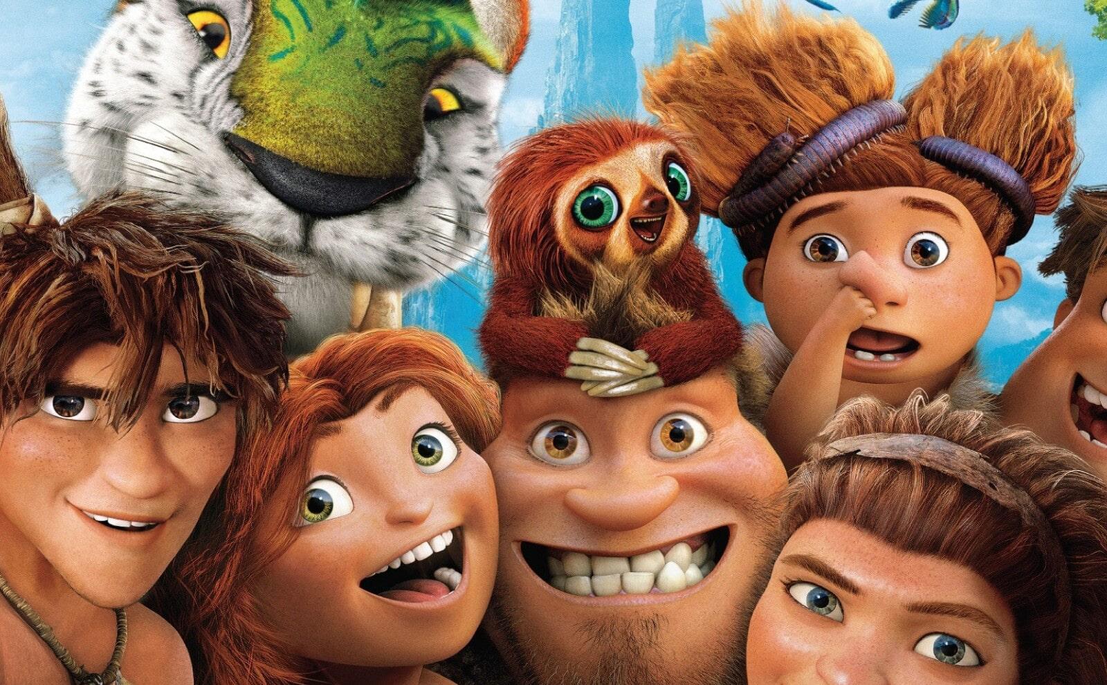"""Jaskiniowcy ruszają na podbój świata – recenzja animacji """"Krudowie 2: Nowa era"""""""